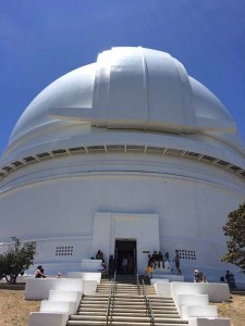 The big white dome.