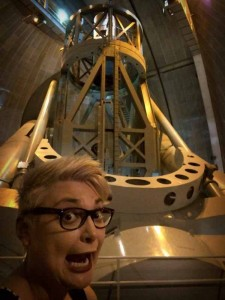 My, what a big telescope you have!
