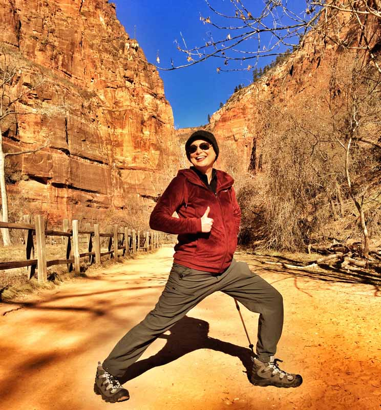 Zion National Park #LungeOn