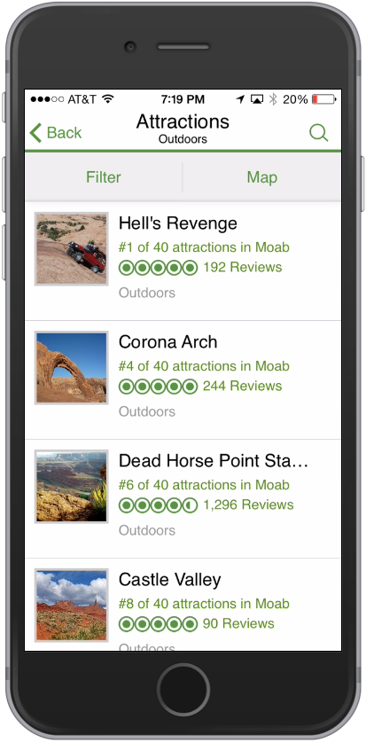TripAdvisor utah outdoors
