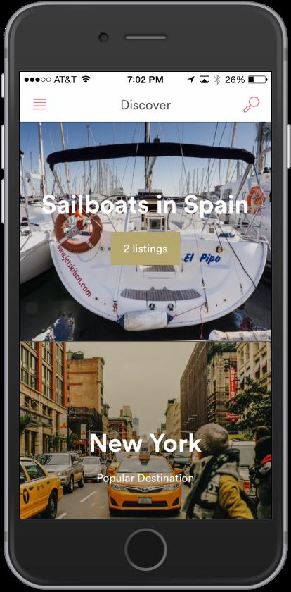 airbnb sailboats