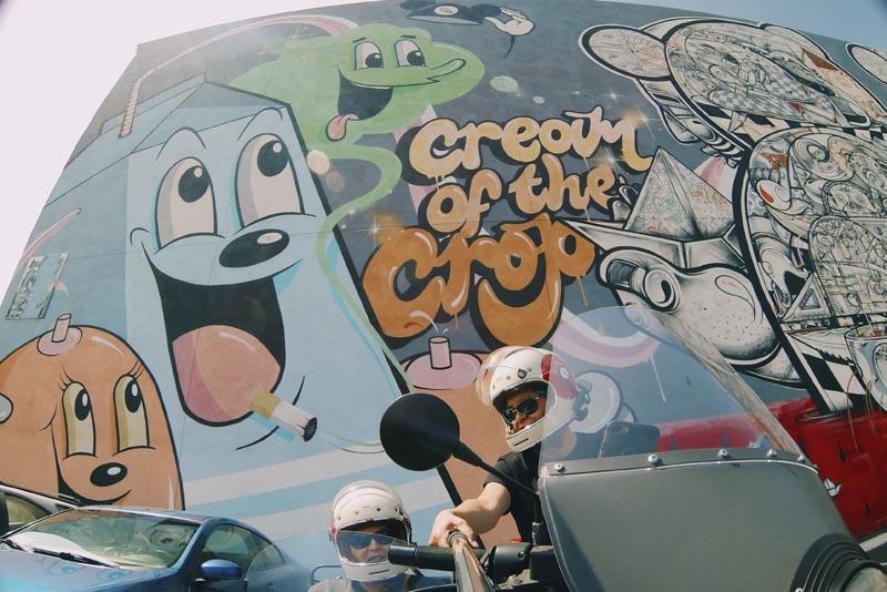 arts district cream of the crop street art