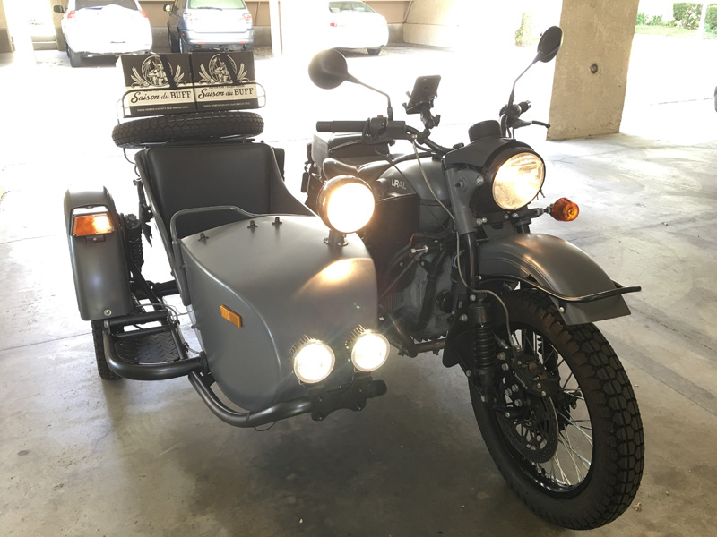 sidecar light test