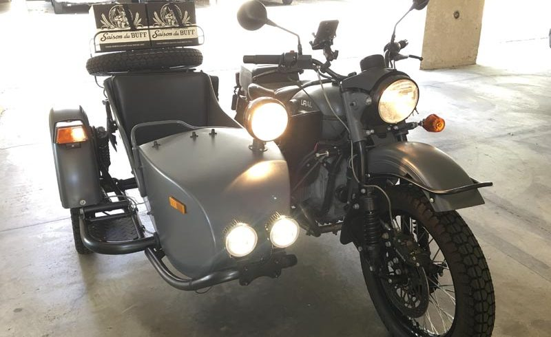 How to Install a Sidecar Light Kit on a Ural