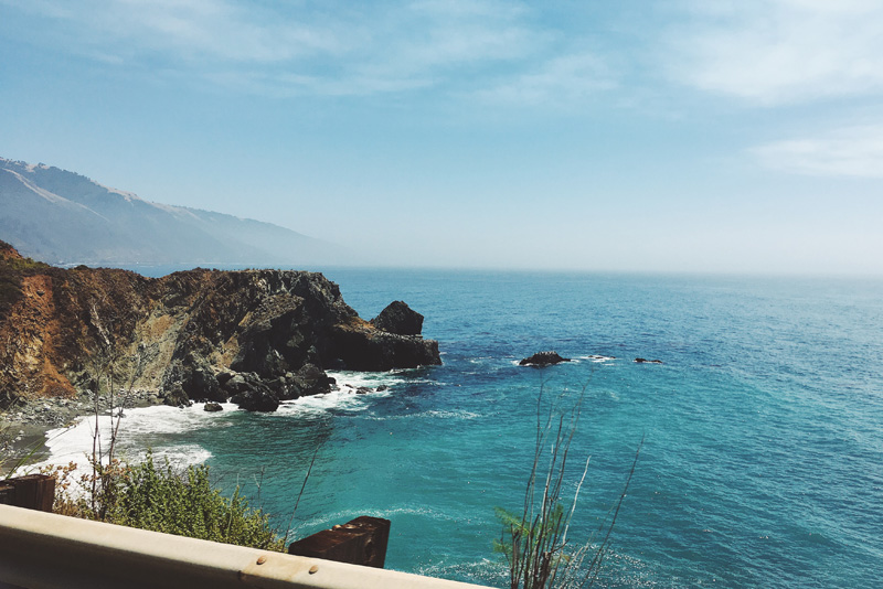 pacific coast highway views