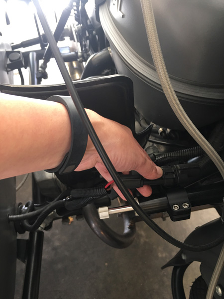 How to Install a Sidecar Light Kit on a Ural - 2 Girls Trippin'
